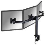 Newstar FPMA-D960D3 Flat panel Tischhalter 53,3 cm (21 Zoll) Klemme Schwarz