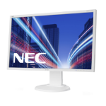 "NEC MultiSync E223W 55.9 cm (22"") 1680 x 1050 pixels LED White"
