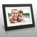 "Aluratek ADMPF410T digital photo frame 10"" Black"
