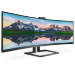 "Philips Brilliance 499P9H1/61 computer monitor 124 cm (48.8"") 5120 x 1440 pixels UltraWide Dual Quad HD LED Black"