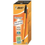 BIC Orange Fine Stick ballpoint pen Fine Black 20pc(s)