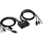 Trendnet TK-220DPI KVM switch Black