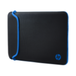 HP 11.6 Black/Blue Neoprene Sleeve