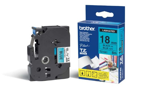 Brother Gloss Laminated Labelling Tape