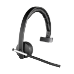 Logitech H820e Monaural Head-band Black headset