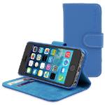 "TheSnugg B00MHX1PWK 4"" Folio Blue mobile phone case"