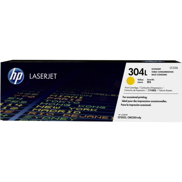 HP CC532L (304L) Toner yellow, 1.4K pages