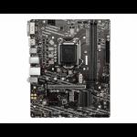 MSI H410M-A PRO motherboard Intel H410 LGA 1200 micro ATX