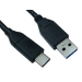 Cables Direct USB3C-921 USB cable 1 m 3.2 Gen 1 (3.1 Gen 1) USB C USB A Black