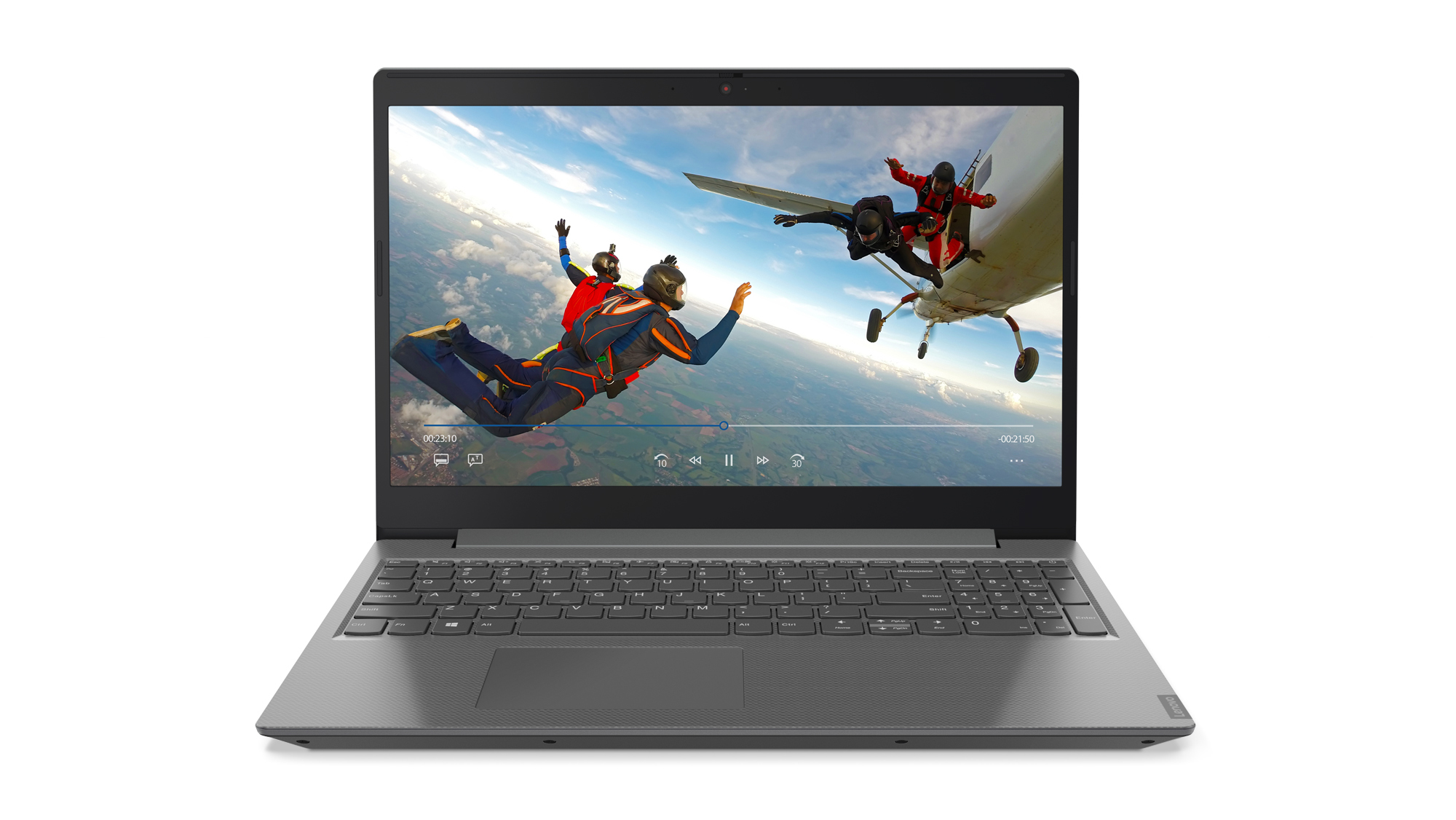 "Lenovo V155 Grey Notebook 39.6 cm (15.6"") 1920 x 1080 pixels AMD Ryzen 3 3200U 8 GB DDR4-SDRAM 256 GB SSD Windows 10 Home"