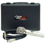 Pyle PDMIK4 microphone Stage/performance microphone Wired Silver