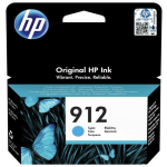 HP 3YL77AE (912) Ink cartridge cyan, 315 pages, 3ml