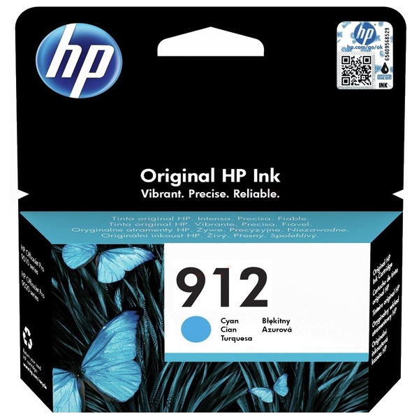 HP 3YL77AE#301 (912) Ink cartridge cyan, 315 pages, 3ml