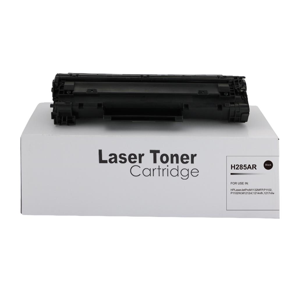 Remanufactured HP CE285A (85A) Black Toner Cartridge