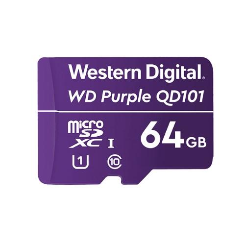 Western Digital WD Purple SC QD101 memory card 64 GB MicroSDXC Class 10