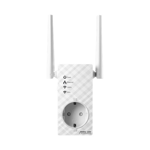 ASUS RP-AC53 - Wi-Fi range extender - Wi-Fi - Dual Band - in wall