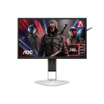 "AOC AGON 1 AG251FZ2E computer monitor 62.2 cm (24.5"") 1920 x 1080 pixels Full HD LCD Black, Red"