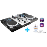 Hercules Air S Party Pack DJ controller Black, Silver 2 channels