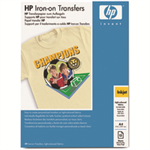 HP Iron-on Transfers-12 sht/A4/210 x 297 mm
