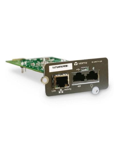 Vertiv Liebert IS-UNITY-DP Communications Card Ethernet 100 Mbit/s