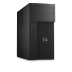 DELL Precision T3620 3.5GHz E3-1240V5 Mini Tower Intel® Xeon® E3 v5 Black Workstation