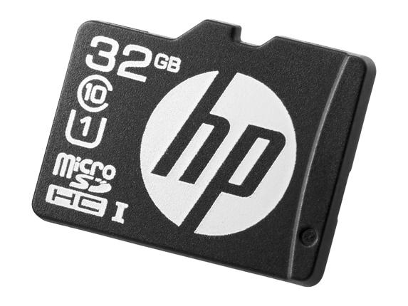 Hewlett Packard Enterprise 32GB microSD Mainstream Flash Media Kit 32GB MicroSDHC UHS Class 10 memor