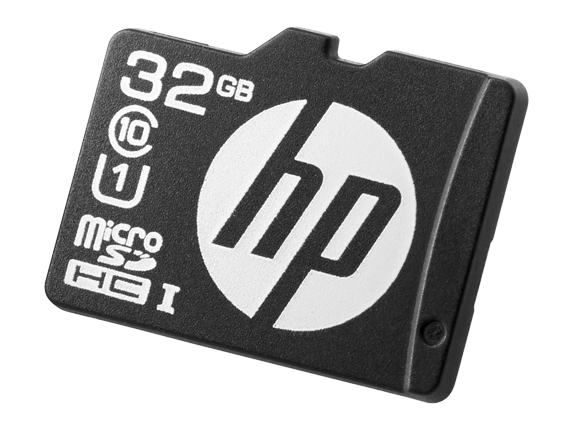 Hewlett Packard Enterprise 32GB microSD Mainstream Flash Media Kit memory card MicroSDHC Class 10 UHS