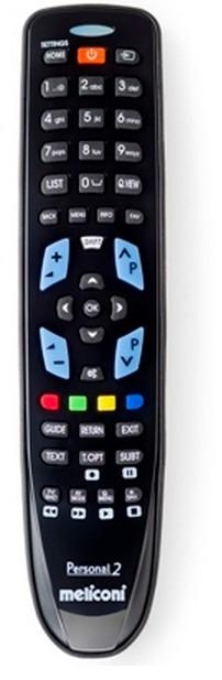 Meliconi Gumbody Personal 2 mando a distancia IR inalámbrico TV Botones
