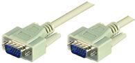 Microconnect SVGA HD15 3m VGA cable VGA (D-Sub) Grey