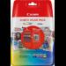 Canon CLI-526 C/M/Y/BK Original Negro, Cian, Amarillo, Magenta Multipack 4 pieza(s)