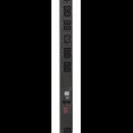 APC Metered Rack PDU 0U Black power distribution unit (PDU)