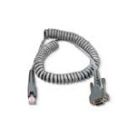 Intermec RS232 Powered Cable serial cable Grey 2 m