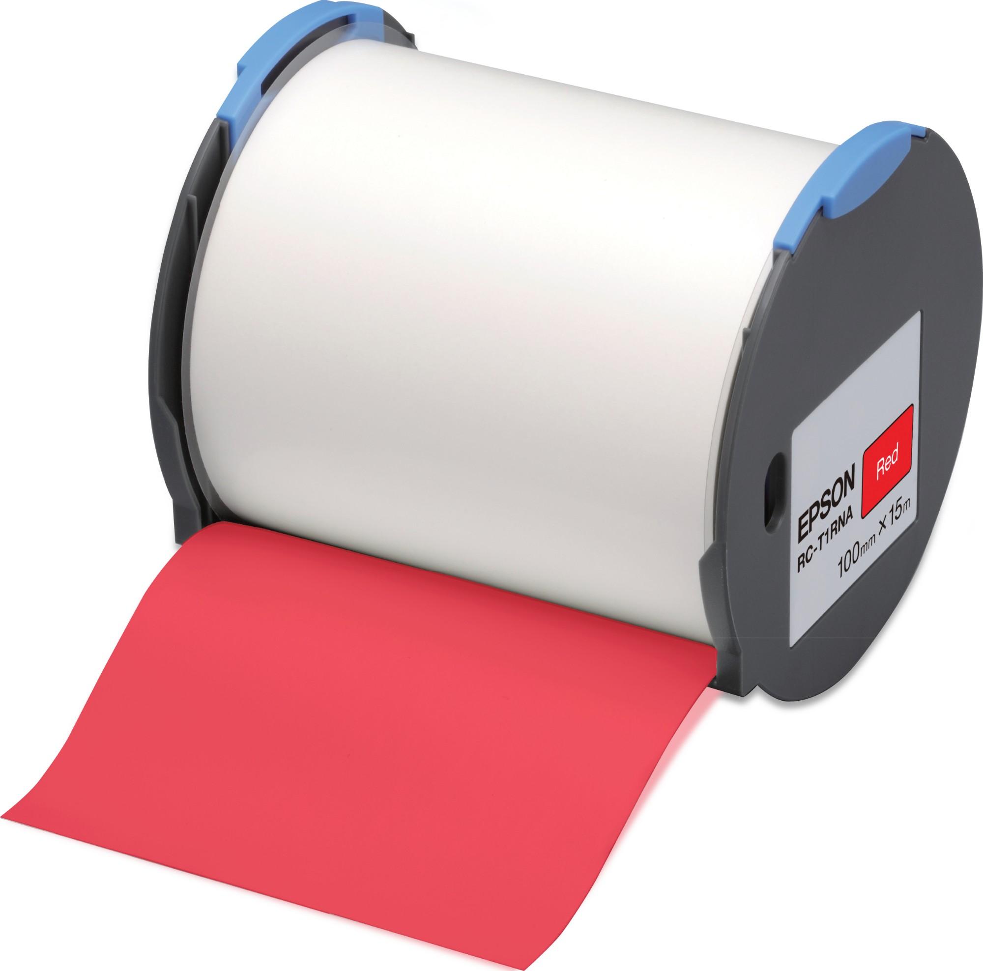 Epson Cinta RC-T1RNA roja 100 mm