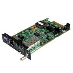 StarTech.com Gigabit ethernet glasvezel mediaconverterkaartmodule met open SFP-sleuf