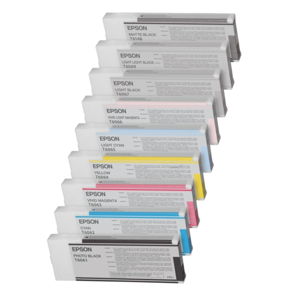 Epson C13T606400 (T6064) Ink cartridge yellow, 220ml