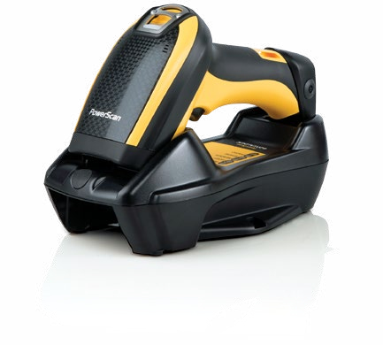 Datalogic PowerScan PBT9300 Handheld 1D Laser Black,Yellow