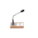 2N Telecommunications 914431E Table microphone Brown, Silver microphone