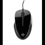 HP X1500 USB Optical Black