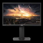 "ASUS MG24UQ 23.6"" 4K Ultra HD IPS Black computer monitor"