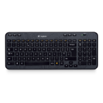 Logitech Wireless K360 keyboard RF Wireless Russian Black