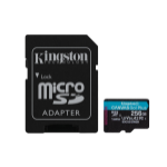 Kingston Technology Canvas Go! Plus flashgeheugen 256 GB SD Klasse 10 UHS-I