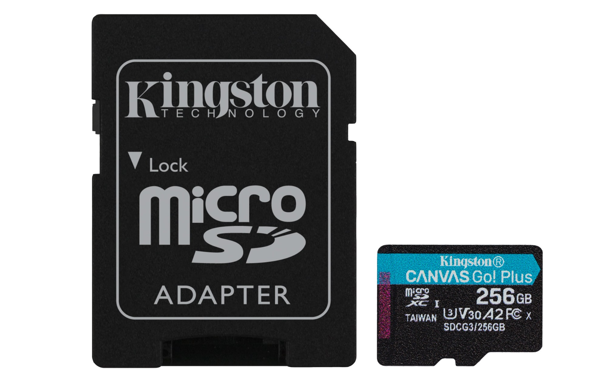Kingston Technology Canvas Go! Plus memoria flash 256 GB SD Clase 10 UHS-I