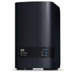 Western Digital My Cloud EX2 Ultra NAS Ethernet LAN Black