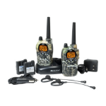 Midland GXT1050VP4 two-way radio 50 channels 462.550 - 467.7125 MHz