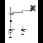 Astrotek Monitor Stand Desk Mount 44cm Arm for Single LCD Display 21.5' 22' 23.6' 24' 27' 8kg 30° tilt 180° s