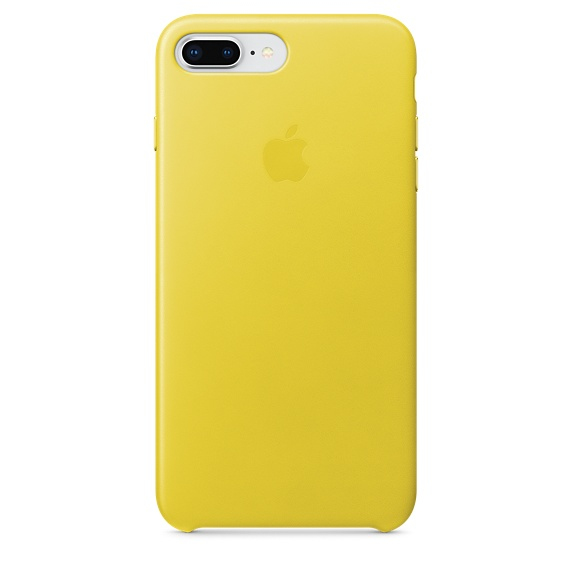 iPhone 8 Plus/ 7 Plus Leather Case Yellow
