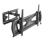 """Tripp Lite Heavy-Duty Full-Motion Security TV Wall Mount for 37"""" to 80"""", Flat or Curved, UL Certified"""