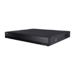 Hanwha HRX-1620 digital video recorder (DVR) Black