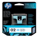 HP 02 Cian claro cartucho de tinta
