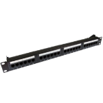 Cables Direct 24 port Cat5e patch panel 1U